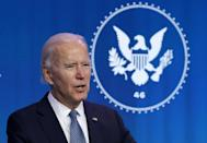 President-elect Joe Biden said Donald Trump was responsible for one of the 'darkest days' in US history