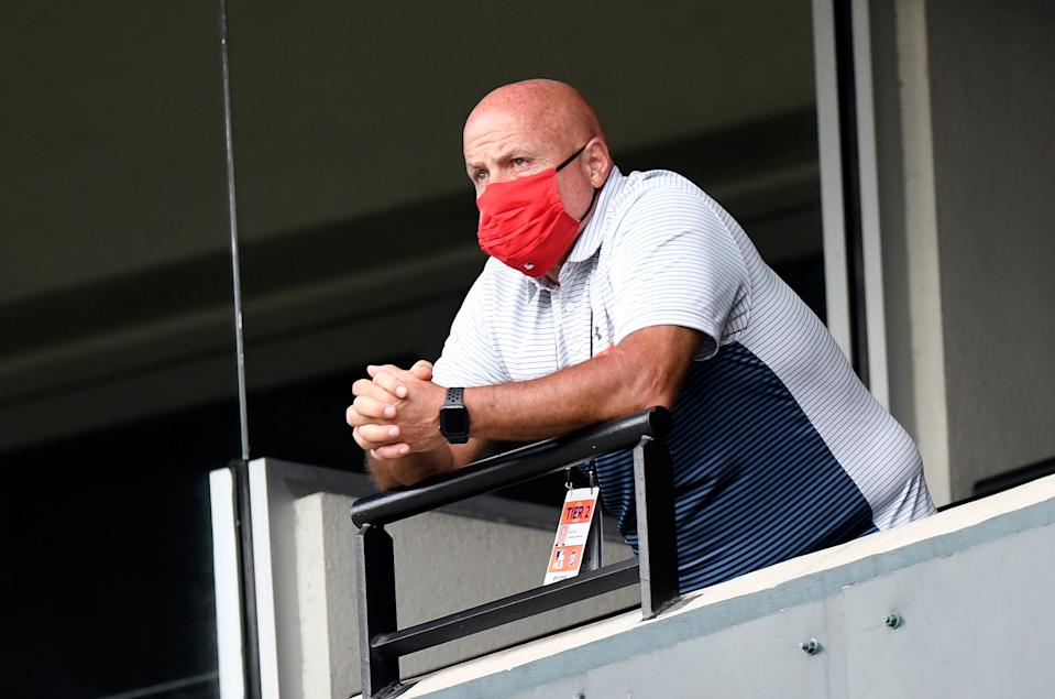 General manager Mike Rizzo of the Washington Nationals
