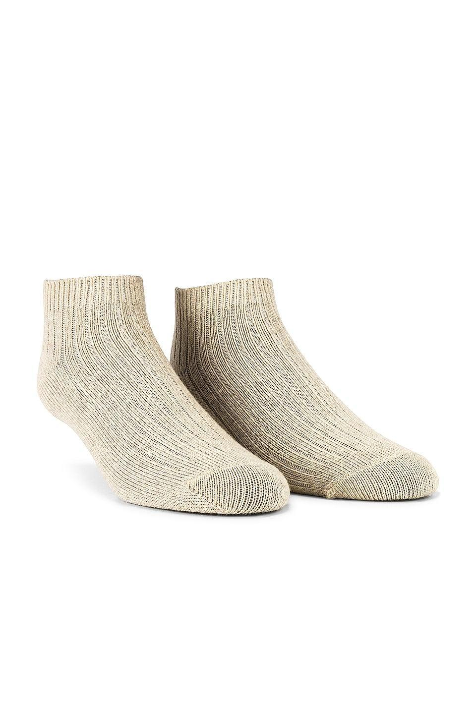 <p>These <span>Skin Cashmere Socks</span> ($68) are the definition of affordable luxury.</p>