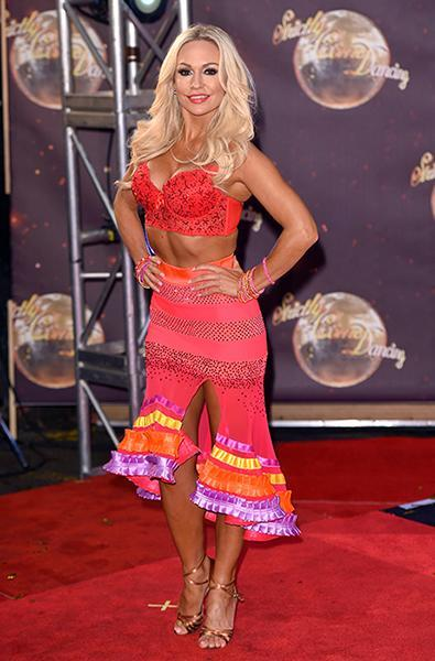 Kristina Rihanoff from Strictly Come Dancing