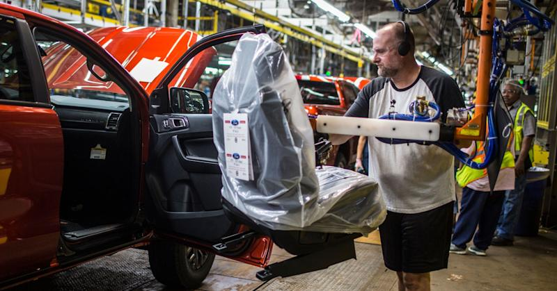 Ford kicks off Ranger production in MI