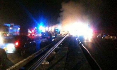 Motorway 'Fireball' Crash Leaves Several Dead