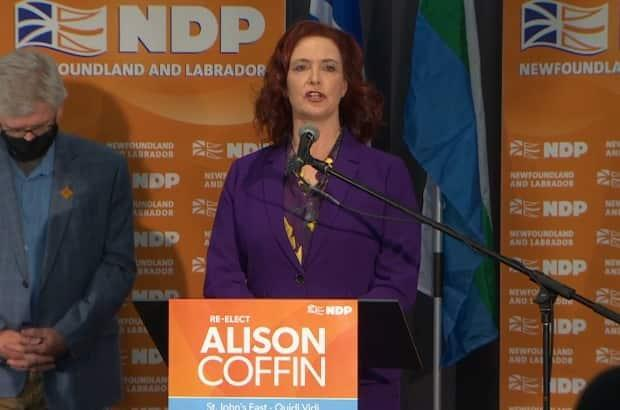 Alison Coffin said she was disturbed by how the Newfoundland and Labrador election was called and managed.