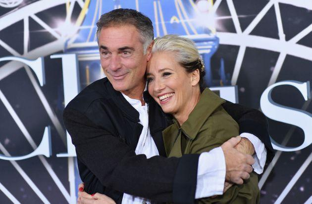 Greg Wise and Emma Thompson at the premiere of Last Christmas (Photo: ANGELA WEISS via Getty Images)