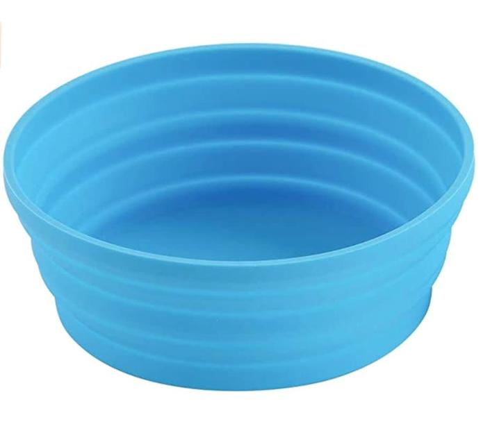 "Young recommends getting collapsible cups and bowls for your RV. <a href=""https://amzn.to/3fJovwf"" rel=""nofollow noopener"" target=""_blank"" data-ylk=""slk:We found this Ecoart Silicone Expandable Collapsible Bowl for Travel Camping Hiking for $7 on Amazon."" class=""link rapid-noclick-resp"">We found this Ecoart Silicone Expandable Collapsible Bowl for Travel Camping Hiking for $7 on Amazon.</a>"