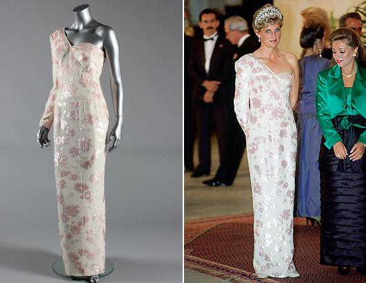 """<div class=""""caption-credit""""> Photo by: KerryTaylorAuctions/Tim Graham/Getty Images</div><div class=""""caption-title""""></div>Princess Diana's philanthropic efforts were behind the sale of her personal wardrobe in the final months of her life. Two months before her death, she auctioned off a dress by her favorite designer Catherine Walker to raise money for charity. Earlier this year, it was resold for $116,000."""