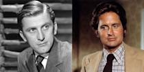 <p>Both Kirk and Michael Douglas had distinguished acting careers and are considered part of A-list Hollywood. Back when Kirk was 30, he had just landed his first role in the film <em>The Strange Love of Martha Ivers, </em>while Michael, at the same age, was busy starring on the show <em>The Streets of San Francisco. </em></p>