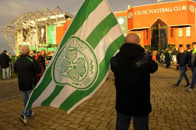 Celtic, who were presented with the Premiership trophy for the sixth successive time after the match, also set a new points record of 106 - 30 ahead of runners-up, Aberdeen