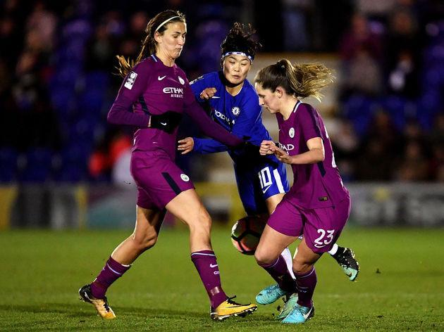 More Manchester City Women and Chelsea Ladies face off on Saturday in one of the season's biggest matches. The teams share the two top spots in the Women's Super League 1 table, with Chelsea just one point ahead of their rivals heading into the weekend, and the title looks set to head either to Manchester or London. Here's everything you need to know about the match as both sides look to take control of the title race. Previous Encounter Chelsea are one of two teams to have stopped City winning...