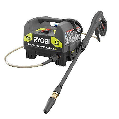 """<p><strong>RYOBI</strong></p><p>amazon.com</p><p><strong>$114.70</strong></p><p><a href=""""https://www.amazon.com/dp/B07WSS75TX?tag=syn-yahoo-20&ascsubtag=%5Bartid%7C10055.g.33460230%5Bsrc%7Cyahoo-us"""" rel=""""nofollow noopener"""" target=""""_blank"""" data-ylk=""""slk:SHOP NOW"""" class=""""link rapid-noclick-resp"""">SHOP NOW</a></p><p>Consider this machine a smaller, more accessible version of our top pick. The compact, lightweight <strong>weighs just over 16 pounds, yet <strong>its 1,600 PSI and 1.2 GPM </strong>offers enough power for many household tasks. </strong>Plus, it comes with three nozzles, including a turbo option for 50% faster cleaning. It's a great option for anyone who thinks portability may be a consideration, since it's easy enough to tote to a boat dock or a campsite. </p>"""