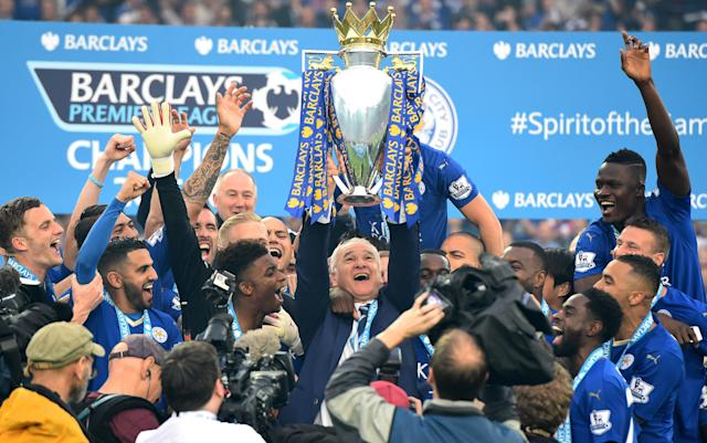 Leicester City became unlikely Premier League champions in 2016 (Getty)