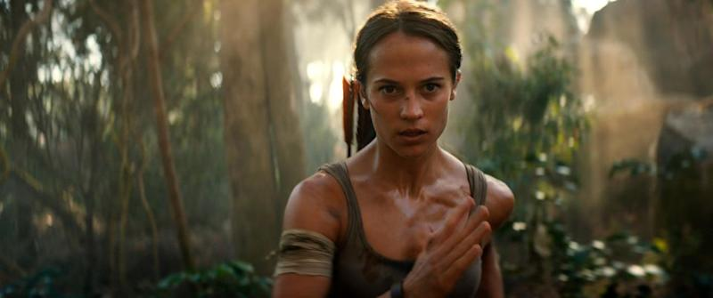 "Alicia Vikander said she was aware of the controversy surrounding an ""attempted rape"" scene in the 'Tomb Raider' game her film is based on. Source: Supplied"