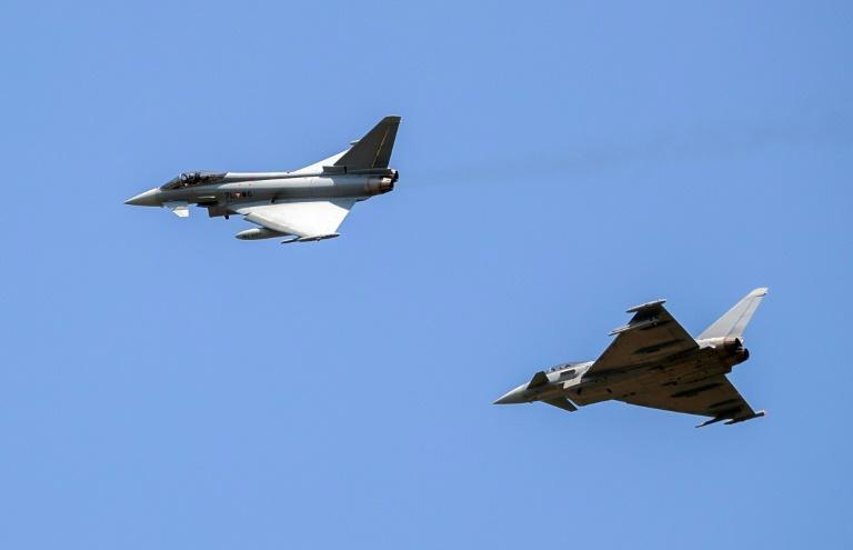The Eurofighter Typhoon is out of the running to replace 88 aging Canadian fighter jets (AFP Photo/GEORG HOCHMUTH)
