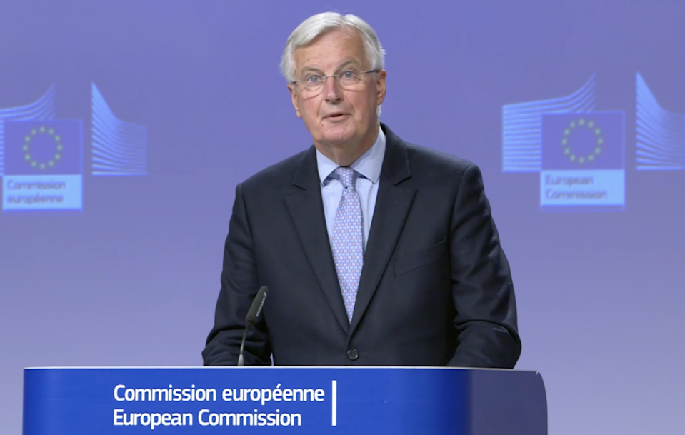Michel Barnier said that there has been no progress in Brexit talks between the EU and UK. (European Commission)