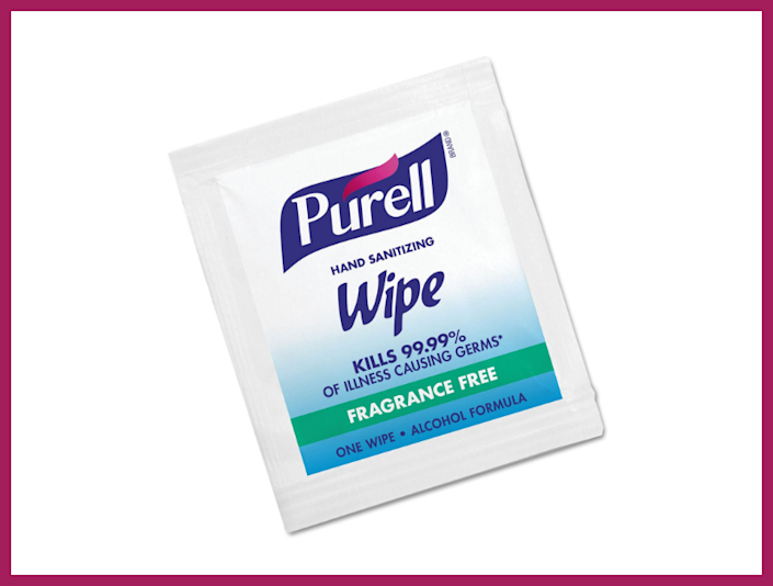 Remember Wash-n-Dries? This time, with Purell.  (Photo: Amazon)