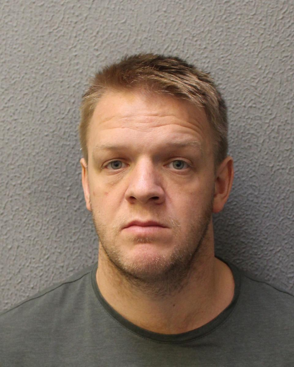 Metropolitan Police officer Charlie Harrison has been jailed. (Metropolitan Police)