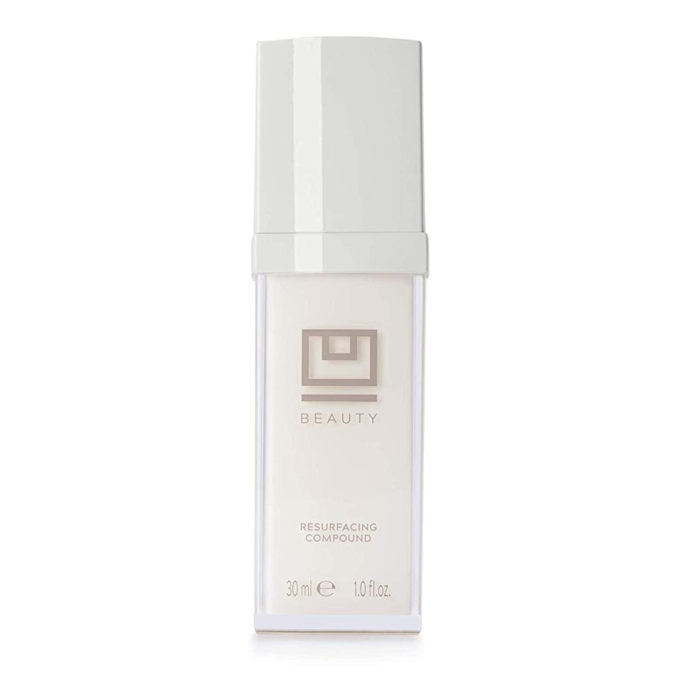 <p>The <span>U Beauty Resurfacing Compound Serum With Vitamin C &amp; E</span> ($148) has everything you need to antiage and handle breakouts in one bottle. </p>