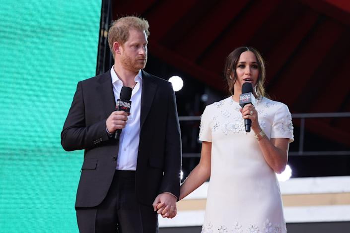 Harry and Meghan Advocate For Worldwide Vaccine Equity During Moving Speech in NYC