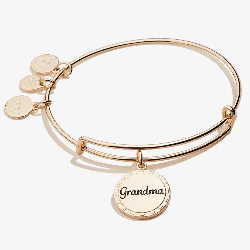 """<br> <br> <strong>Alex and Ani</strong> Grandma Charm Bangle, $, available at <a href=""""https://go.skimresources.com/?id=30283X879131&url=https%3A%2F%2Fwww.alexandani.com%2Fbecause-i-love-you-grandma-charm-bangle-shiny-antique-gold.html"""" rel=""""nofollow noopener"""" target=""""_blank"""" data-ylk=""""slk:Alex and Ani"""" class=""""link rapid-noclick-resp"""">Alex and Ani</a>"""