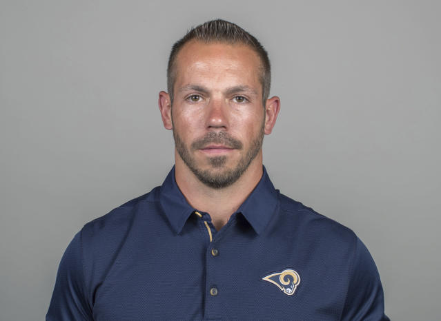 Rams strength and conditioning coach Ted Rath was found not guilty on three counts of sexual battery. (AP Photo, File)