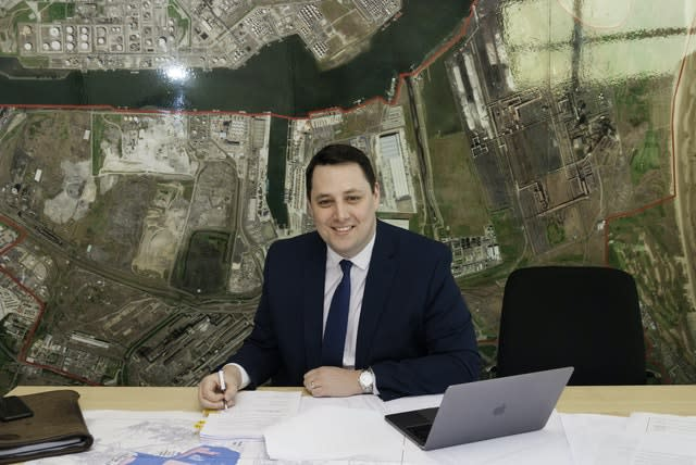 Tees Valley mayor Ben Houchen (Tees Valley Combined Authority/PA)