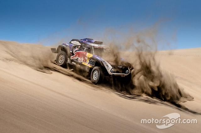 "#300 X-Raid Mini JCW Team: Carlos Sainz, Lucas Cruz <span class=""copyright"">X-Raid Team</span>"