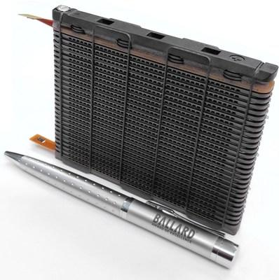 Ballard FCgen®‐1040 prototype fuel cell stack, with Non Precious Metal Catalyst (NPMC) (CNW Group/Ballard Power Systems Inc.)