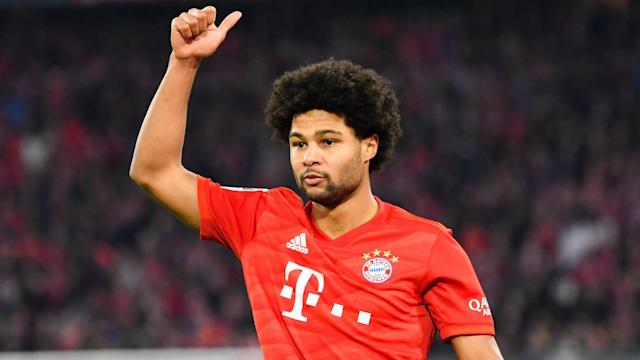 Having missed part of the training camp in Doha, Serge Gnabry appears primed for Bayern Munich's return to Bundesliga action.