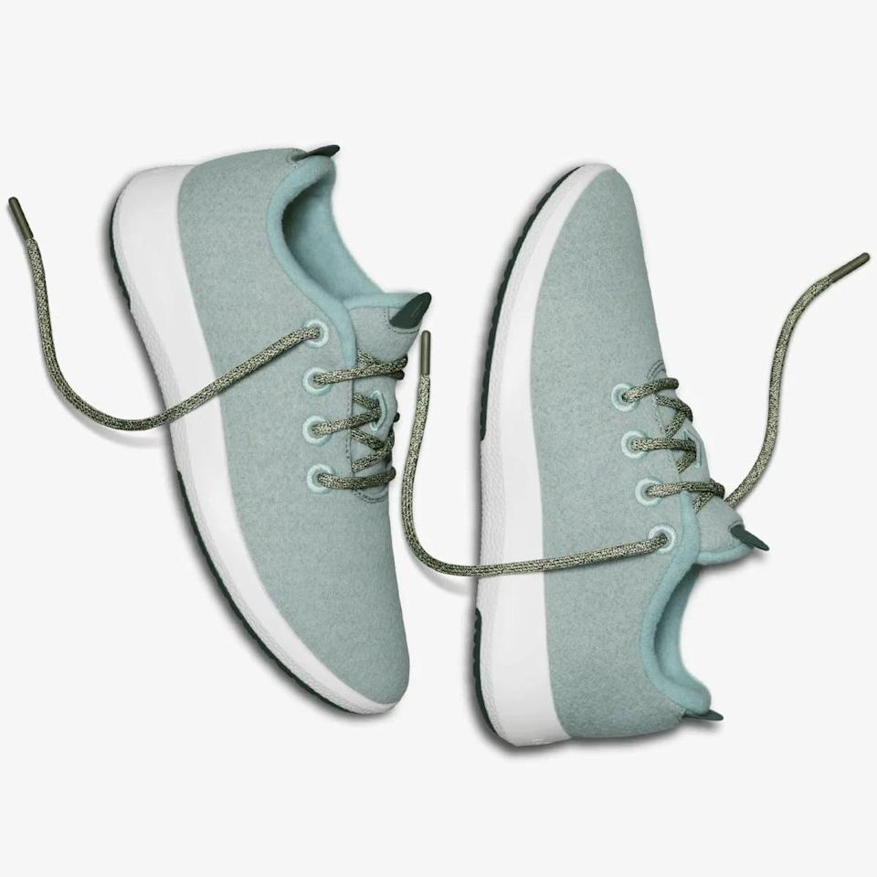 <p>These bestselling <span>Allbirds Wool Runner Mizzles Sneakers</span> ($115) are a customer favorite because of their lightweight design.</p>