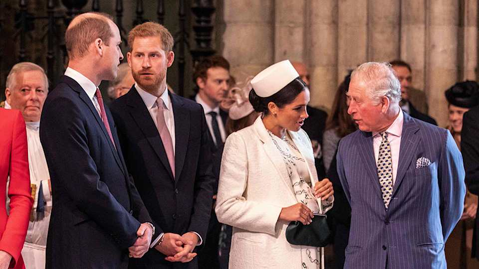 Harry Meghan prince William Prince Charles miscarriage royal support