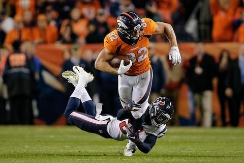 <span>Tight end Jeff Heuerman was the Broncos' top receiver against the Texans</span> <span>Credit: Isaiah J. Downing/USA Today </span>