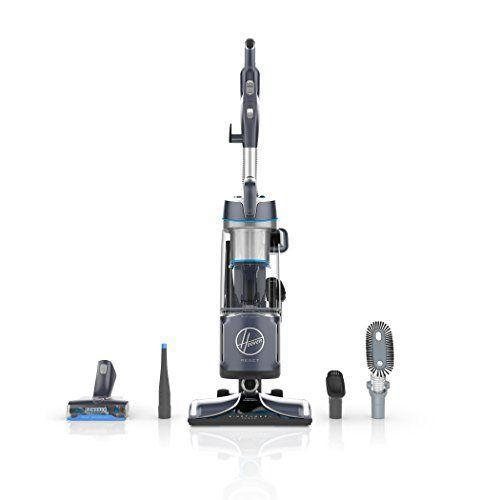 """<p><strong>Hoover</strong></p><p>amazon.com</p><p><strong>$248.00</strong></p><p><a href=""""https://www.amazon.com/dp/B0744TF7GW?tag=syn-yahoo-20&ascsubtag=%5Bartid%7C10055.g.1833%5Bsrc%7Cyahoo-us"""" rel=""""nofollow noopener"""" target=""""_blank"""" data-ylk=""""slk:Shop Now"""" class=""""link rapid-noclick-resp"""">Shop Now</a></p><p>This Hoover can <strong>go from carpet to bare floors without missing a beat. </strong>Its special FloorSense Technology automatically adjusts the brush speed to prevent scattering and damage as you move from one floor surface to the next, so you don't even have to flip a switch or turn a dial. It has a removable canister to better reach underneath low furniture and make above-the-floor cleaning easier, too. The four included attachments are a crevice tool, motorized brush roll tool, stationery dusting brush and a soft bendable dusting brush to clean the tops of bookcases and ceiling fans. </p>"""