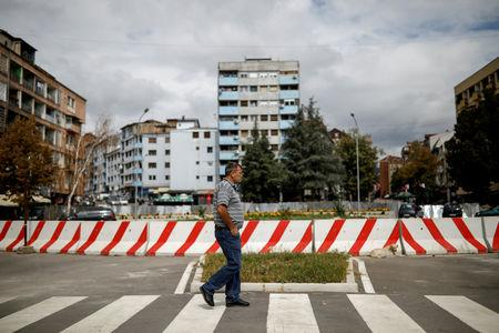 FILE PHOTO: Kosovo, Serbia consider a land swap, an idea that divides the Balkans