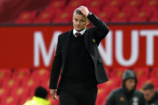 Manchester United manager Ole Gunnar Solskjaer saw his side embarrassed