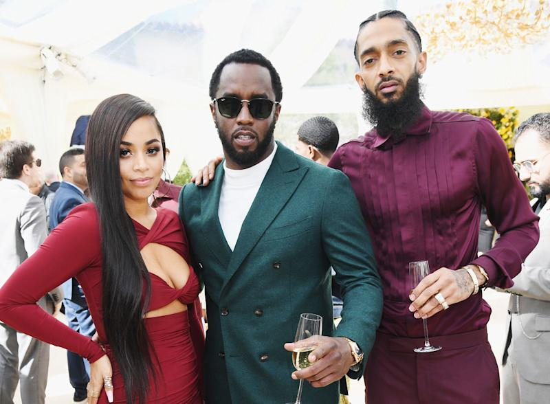 Lauren London talks rumors she's dating Diddy after Nipsey Hussle's death