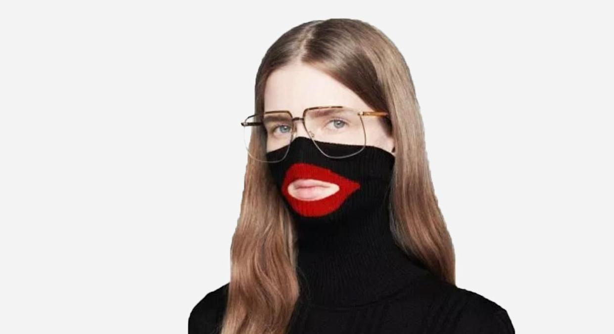 Gucci has apologised following claims this garment resembled 'blackface'. [Photo: Gucci]