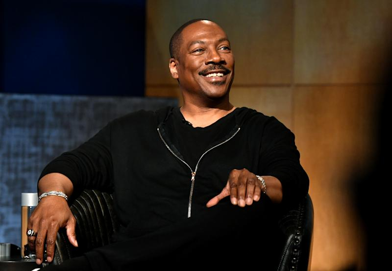 Eddie Murphy speaks onstage during the LA Tastemaker event for Comedians in Cars at The Paley Center for Media on July 17, 2019. (Photo by Emma McIntyre/Getty Images for Netflix)