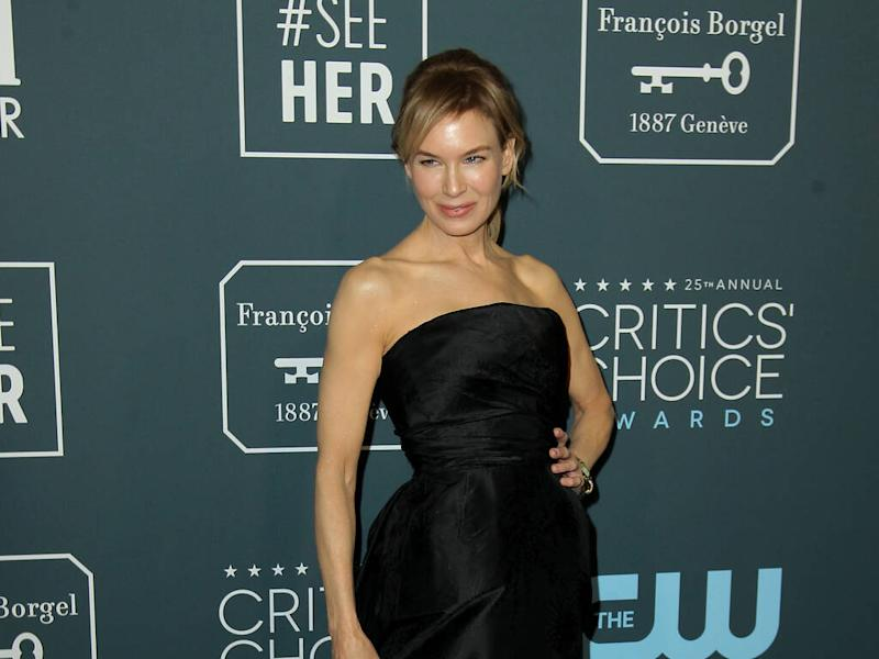 Renee Zellweger honours Judy Garland's 'legacy and humanity' during Critics' Choice Awards win