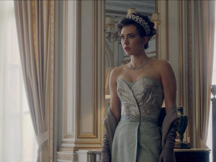 the crown outfit