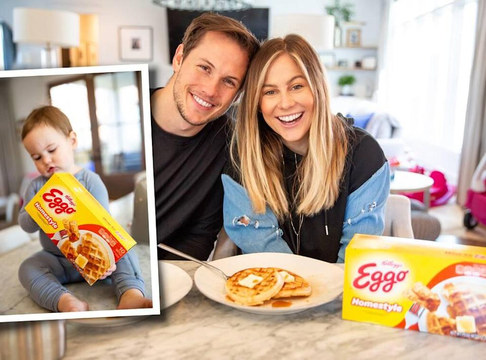 Shawn Johnson,  L'EGGO WITH EGGO