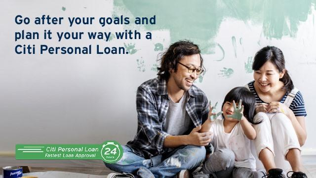 Personal Loan from Citibank