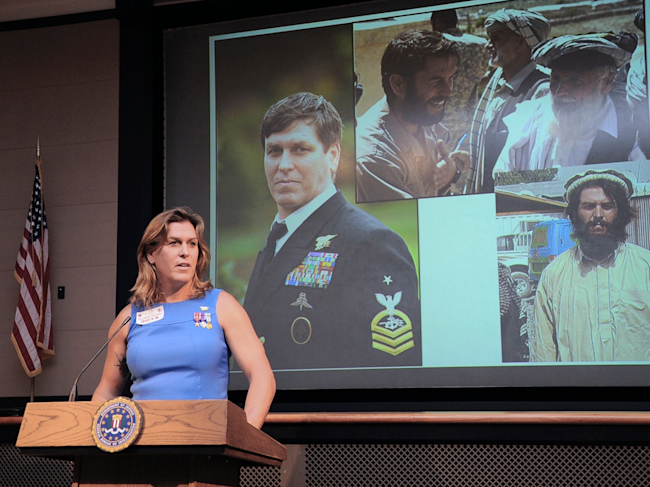 Retired transgender Navy SEAL: Tell me to my face I'm not worthy of serving