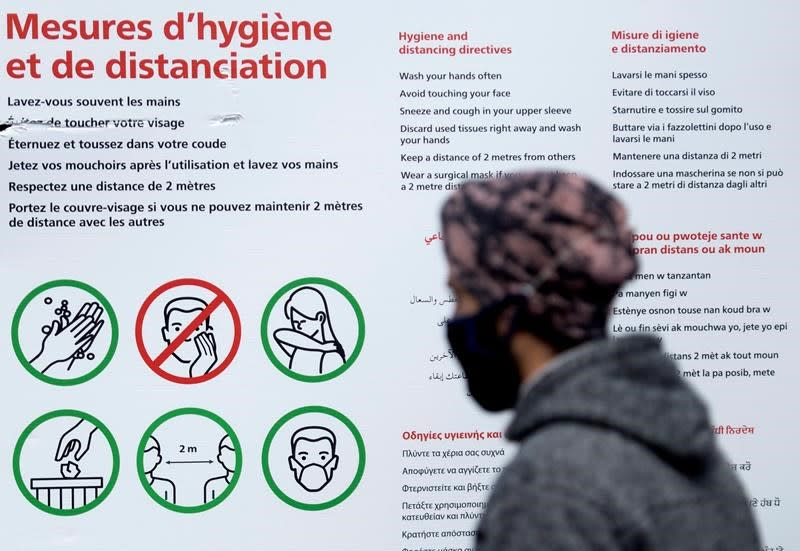 Montreal and Quebec City move to orange 'moderate alert' COVID-19 level