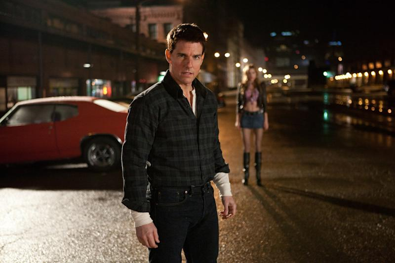 'Jack Reacher' author Lee Child says Tom Cruise, who plays the character in two movies, won't be in the new TV adaptation because he's not built like Reacher.