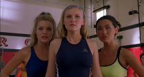 <p>Nicole Bilderback played Whitney, another cheerleader on Torrance's squad. Who could forget Whitney's stage mom coaching during her little sister's try out? Thankfully the Toros aren't a democracy, but a cheerocracy. </p>