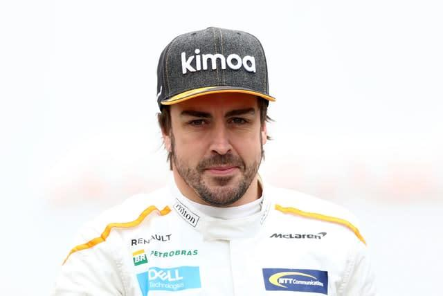 Fernando Alonso's 2017 Formula 1 season for McLaren was the subject of an Amazon documentary (Tim Goode/PA)