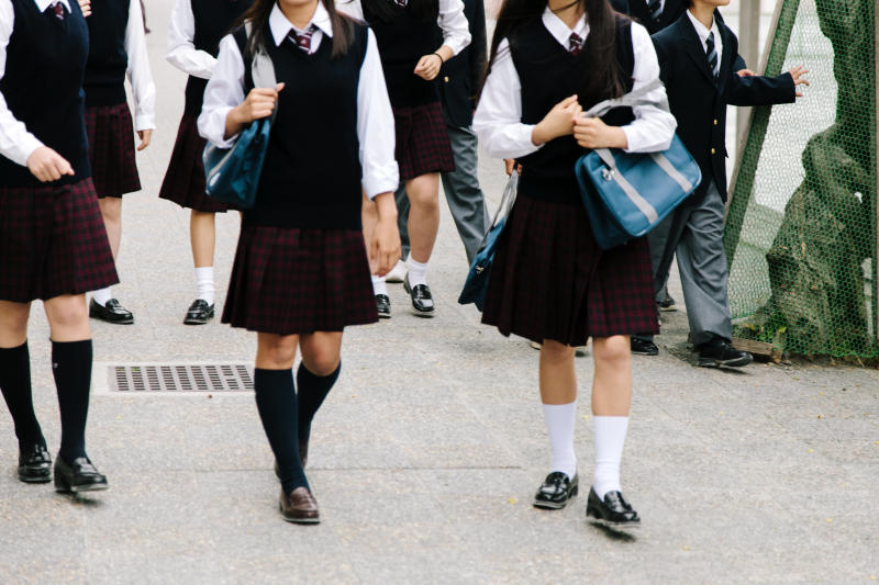 <strong>27% of 11 to 21-year-olds said boys had pulled up their skirts at school or college in the last week</strong> (urbancow via Getty Images)