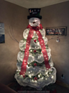 """<p>Instead of infusing your tree with a theme or color palette, give it serious personality by turning it into a jolly snowman. </p><p><em><a href=""""http://www.craftymorning.com/make-snowman-christmas-tree/"""" rel=""""nofollow noopener"""" target=""""_blank"""" data-ylk=""""slk:Get the tutorial at Crafty Morning »"""" class=""""link rapid-noclick-resp"""">Get the tutorial at Crafty Morning »</a></em></p>"""