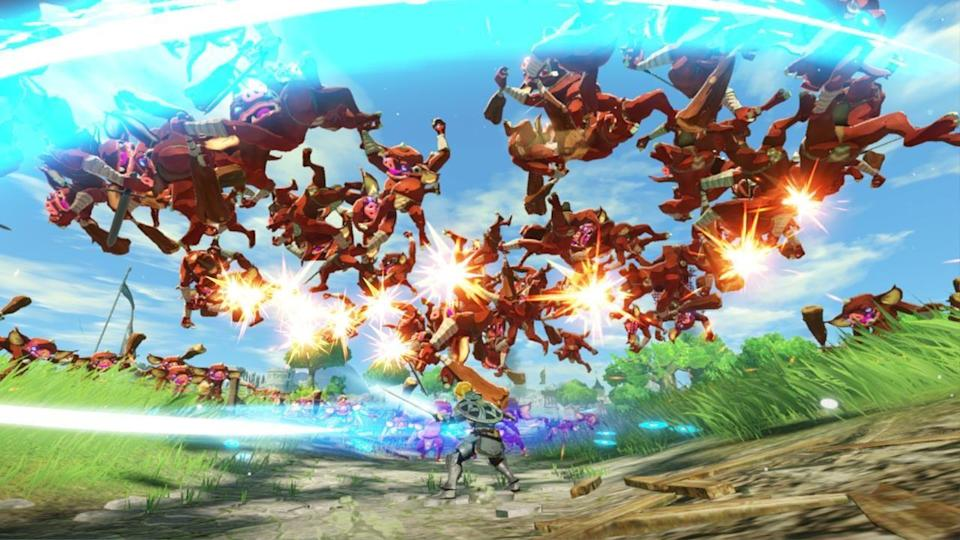 Review Hyrule Warriors Age Of Calamity A Cut Above In Hack And Slash Genre