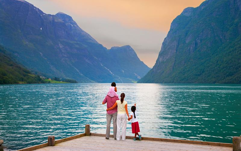 Scandinavia is a great place for a family holiday - regardless of the season - (C)Shaun Egan/ AWL Images ltd ((C)Shaun Egan/ AWL Images ltd (Photographer) - [None]